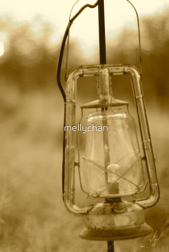 old lantern by mellychan