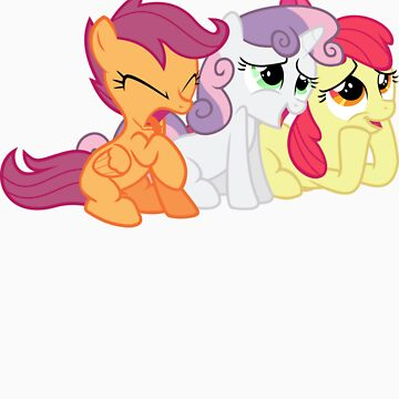 Cutie Mark Crusaders by imscootaloo