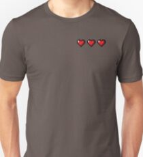 Full Life Video Game Hearts T-Shirt