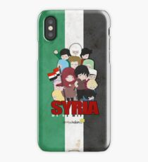 SYRIA - We're With You iPhone Case/Skin