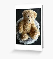 Curly Bear Greeting Card