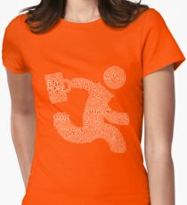 Versus (Red) Women's Fitted T-Shirt
