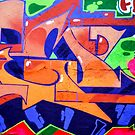 Colorful Abstract street art  by PhotoStock-Isra