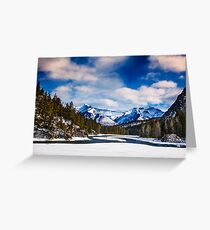 Rocky Mountains 1 Greeting Card
