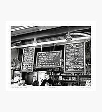 Cajun Cuisine Photographic Print