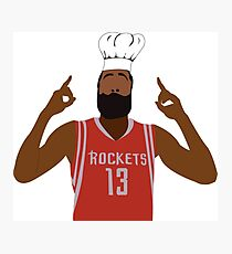 Chef Harden  Photographic Print