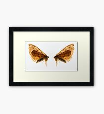Insect Wings Macro - Profile Framed Print