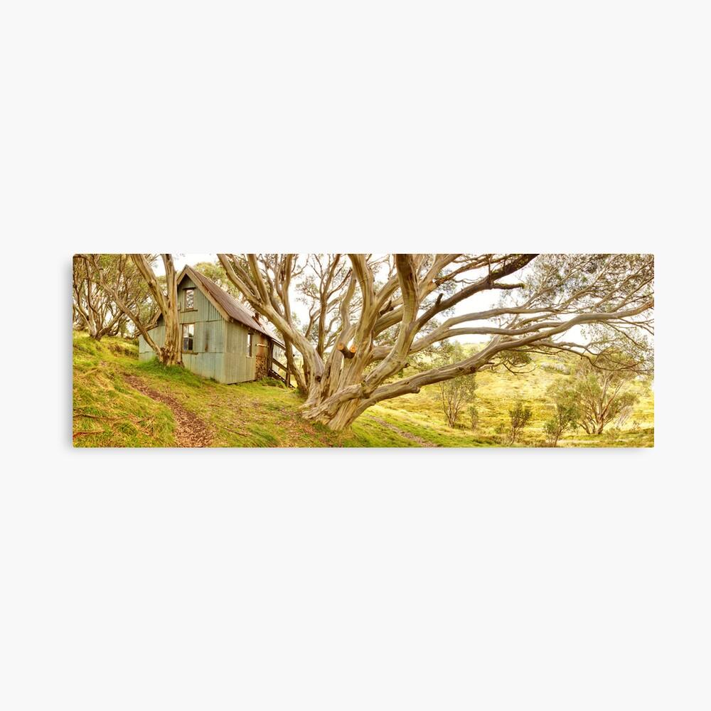 Cope Hut, Falls Creek, Victoria, Australia Canvas Print