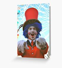 make sure you have fun!  luna park, sydney, australia Greeting Card