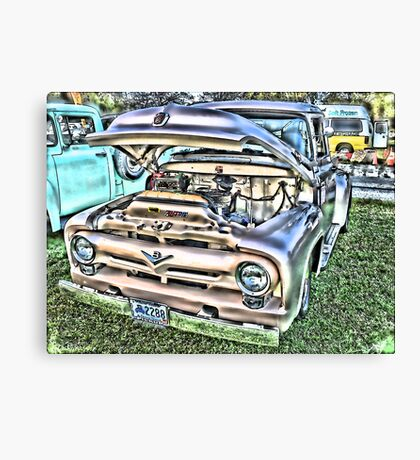 Ford '56 F100 Pickup - Cherry Condition Canvas Print