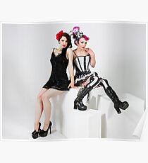 Dress up girls Poster
