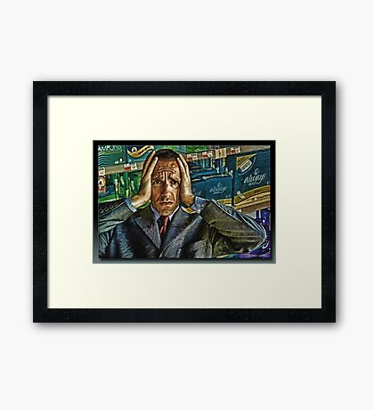 Mini...Maxi...With or With out Wings....Shit!!! Framed Print