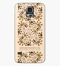 Moo Cow Brown Case/Skin for Samsung Galaxy
