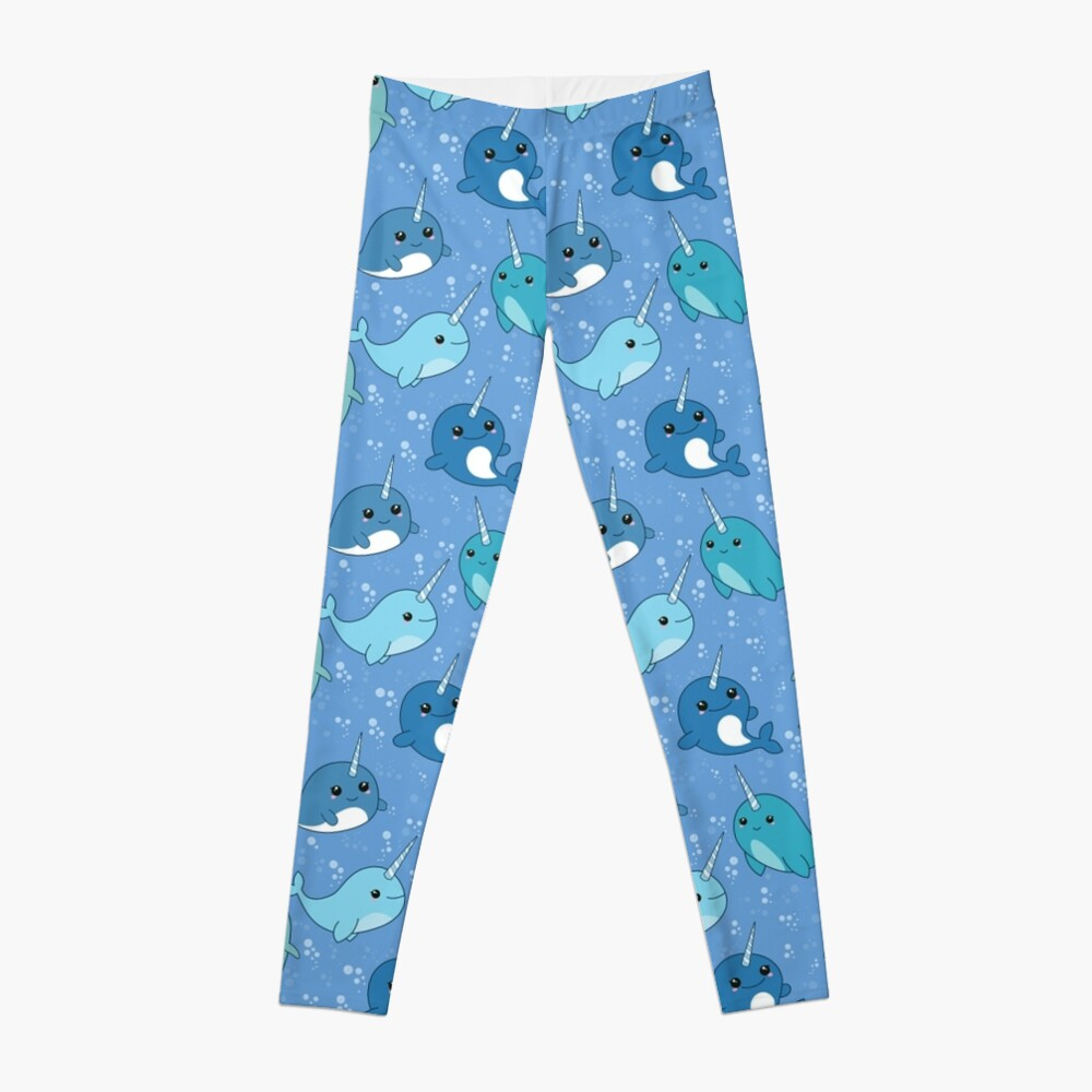 Narwhal Pattern Leggings