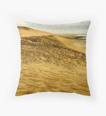 The Skeleton Coast Throw Pillow