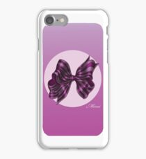 ribbon 2 iPhone Case/Skin