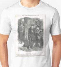 Jack the Ripper Punch Cartoon Whitechapel 1888 Unisex T-Shirt