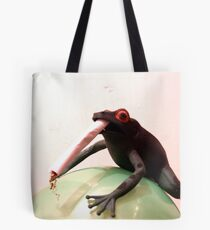Smoking May Harm Your Frog Tote Bag