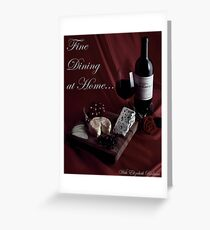 Cookbook Cover Greeting Card
