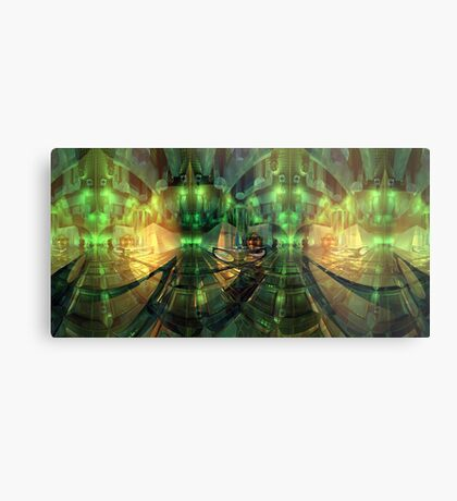 Centre of it all - Neither space nor time Metal Print