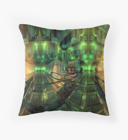 Centre of it all - Neither space nor time Throw Pillow