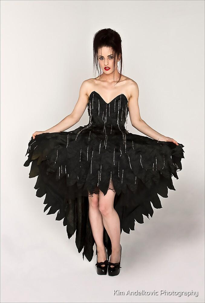 Lady in Black by Kim Andelkovic