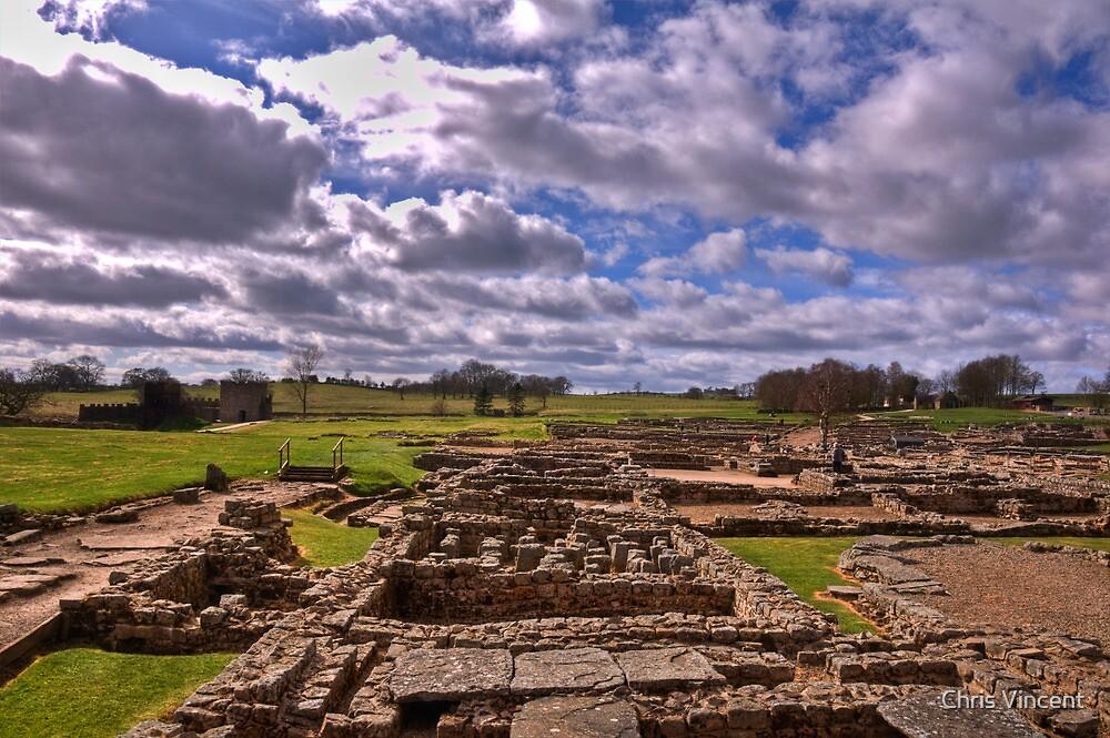 Vindolanda - Roman Fort by Chris Vincent