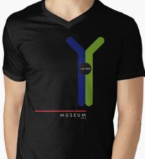 MUSEUM 1966 Mens V-Neck T-Shirt