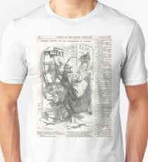 Jack the Ripper Punch Cartoon The pandemonium of posters  1888 Unisex T-Shirt