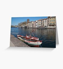 Foresail Greeting Card