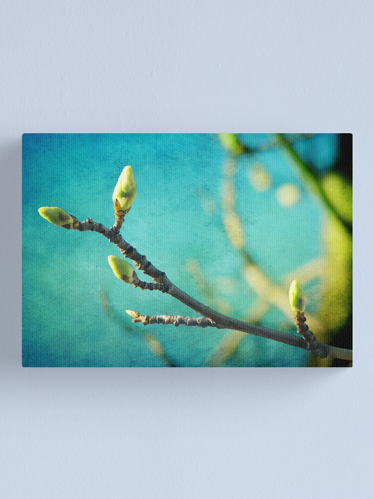 Alternate view of Spring is in the Air Canvas Print