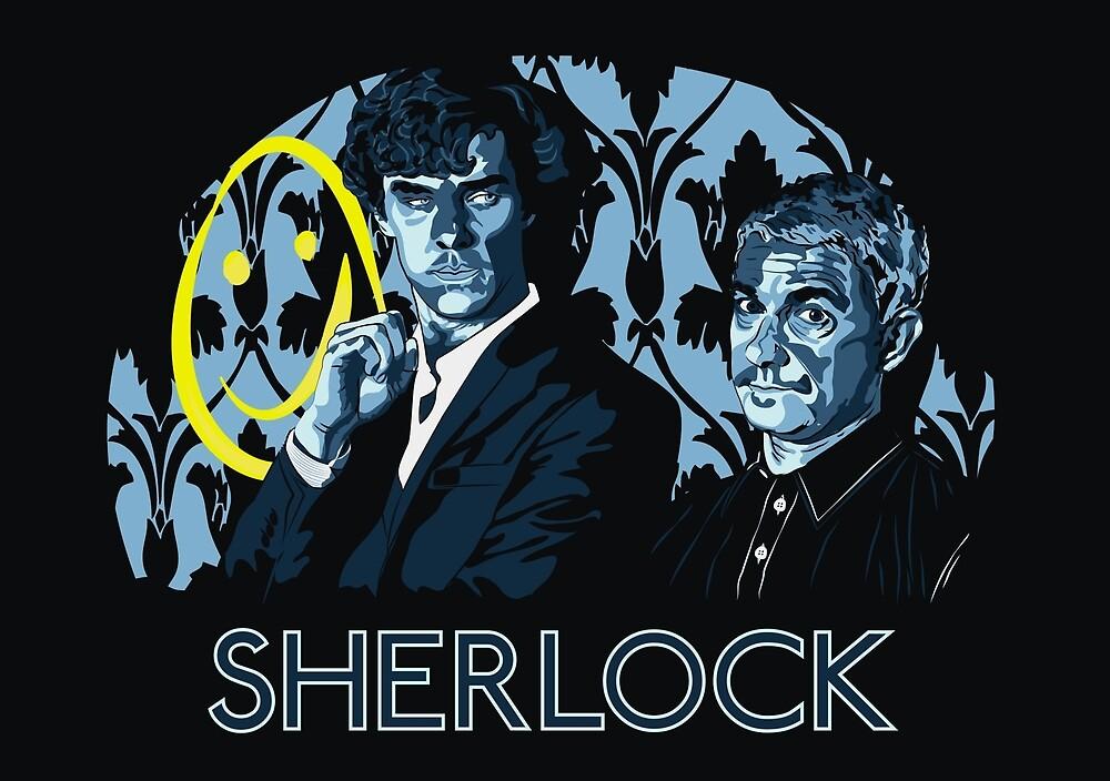 Sherlock - A Study in Blue by Zombride