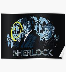 Sherlock - A Study in Blue Poster