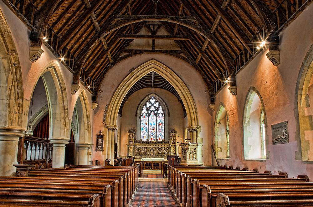 St John The Baptist Netherfield by Dave Godden