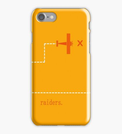 Raiders of the Lost Ark minimalist poster iphone iPhone Case/Skin