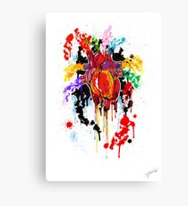 Bleed Creation Canvas Print