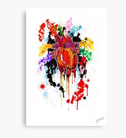 Bleed Creation Canvas Print