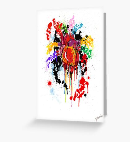 Bleed Creation Greeting Card
