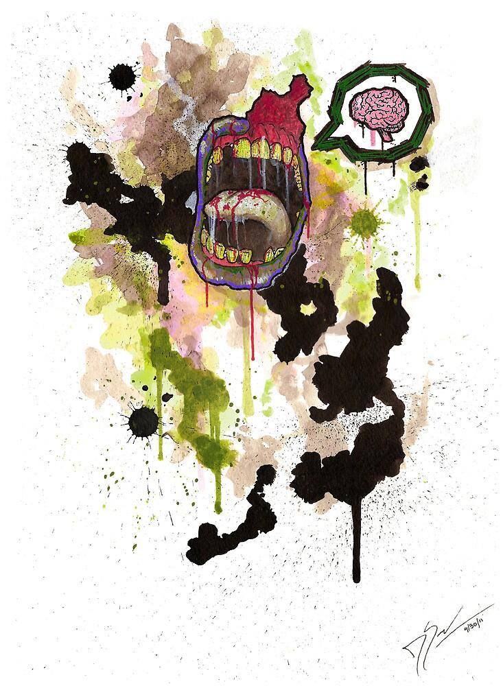 Zombie by Daniel Savoie