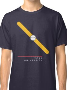 ¥ORK UNIVERSITY [black] Classic T-Shirt