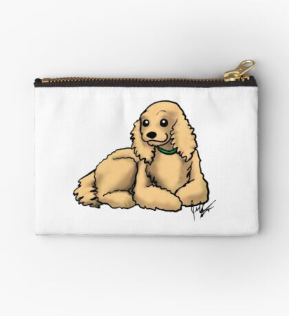 Cocker Spaniel Studio Pouch