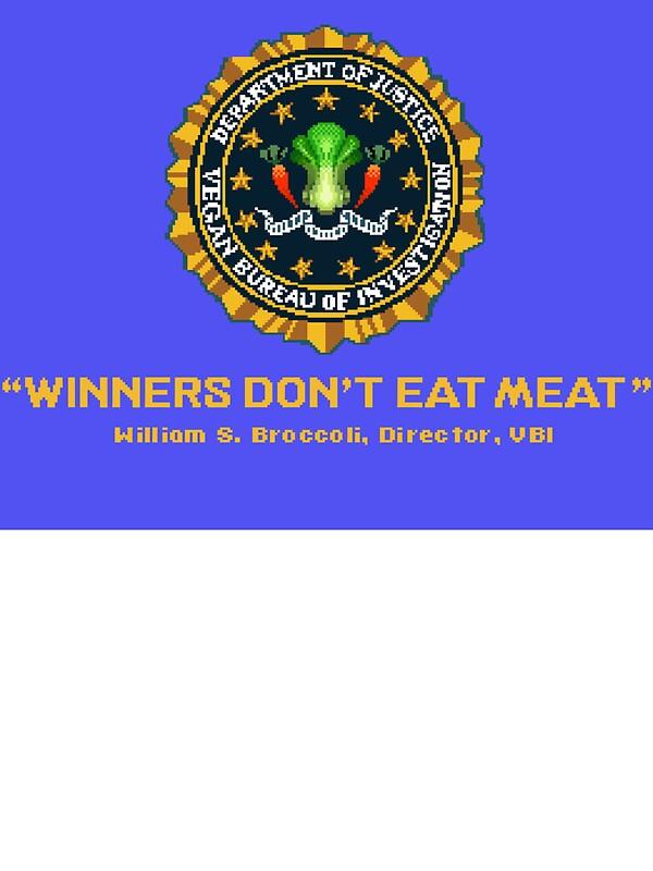 Quot Winners Don T Eat Meat Scott Pilgrim Inspired Vegan