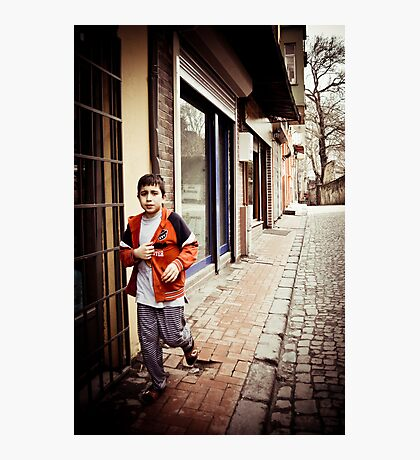 The Boy Photographic Print