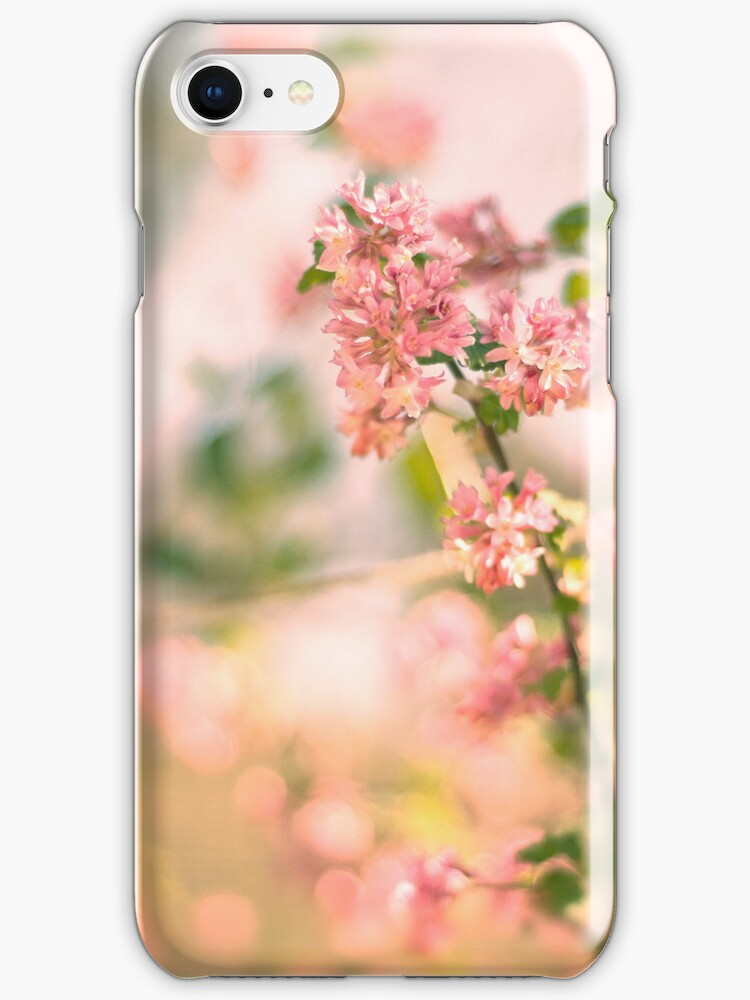 Pastel blossom Iphone & IPod case by Magdalena Warmuz-Dent