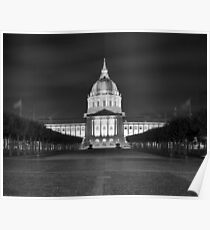 San Francisco City Hall Poster