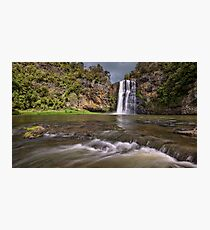 Hunua Falls Photographic Print