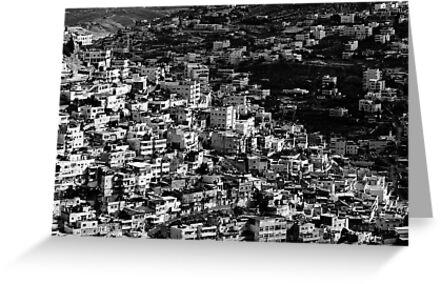 mountains of jerusalem by Victor Bezrukov