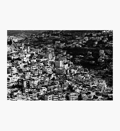 mountains of jerusalem Photographic Print