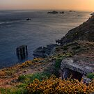 The Ruins of the Cachaliere Pier -Alderney by NeilAlderney