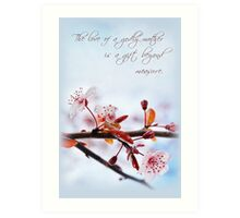 The Love of a Godly Mother (Card) Art Print